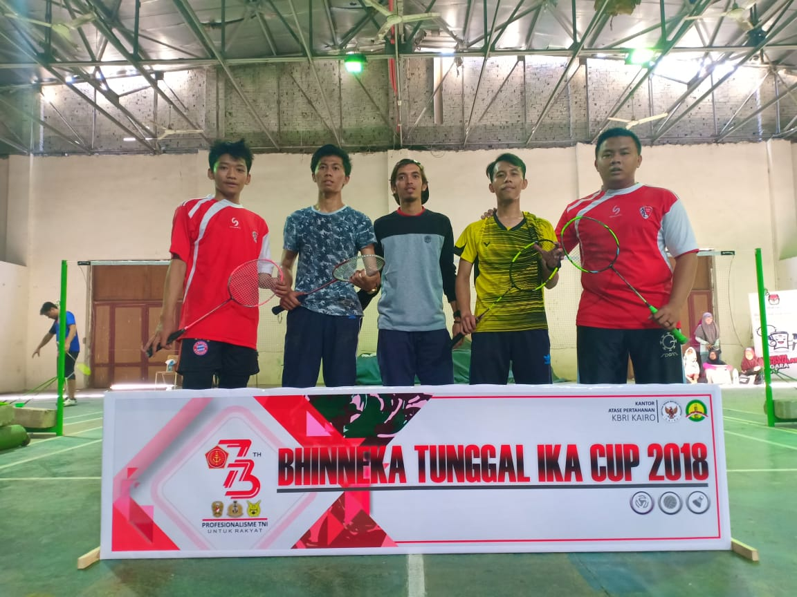 Juara III Badminton Ganda Putra Athan