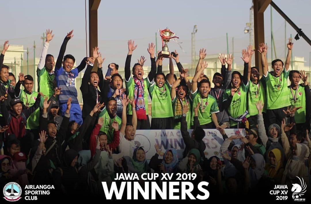 JUARA 1 JAWA CUP XV AIRLANGGA SPORTING CLUB